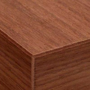 veneered edge