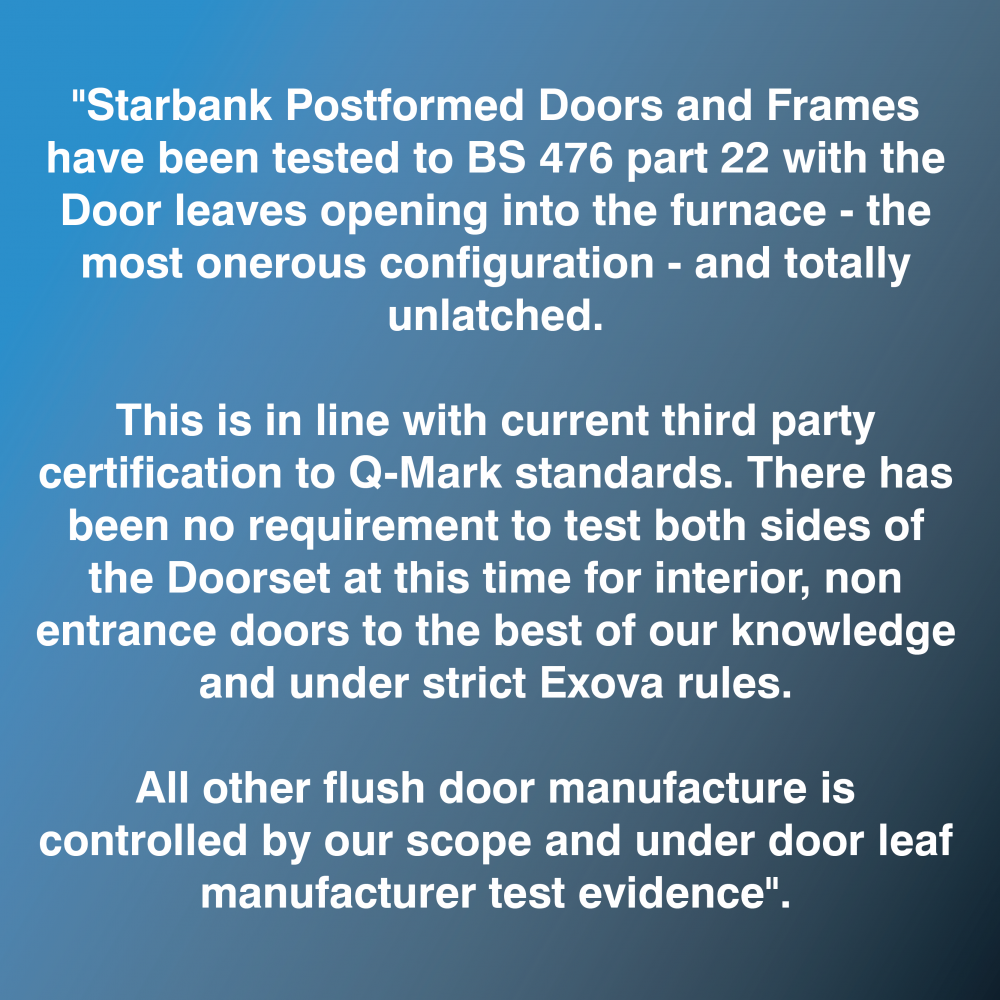 fire door statement