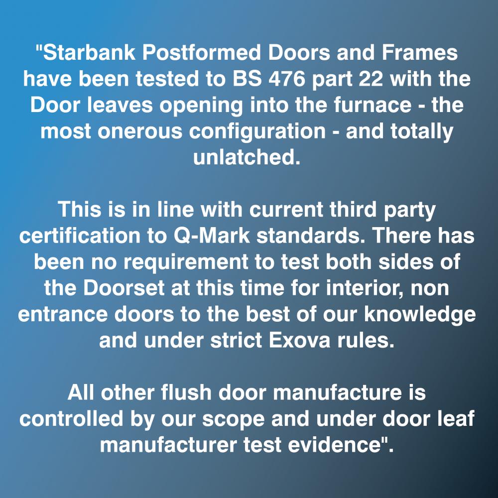 fire door statement