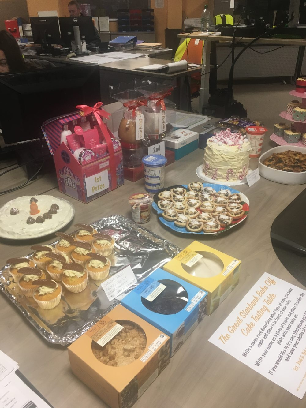 Starbank Christmas Bake Off