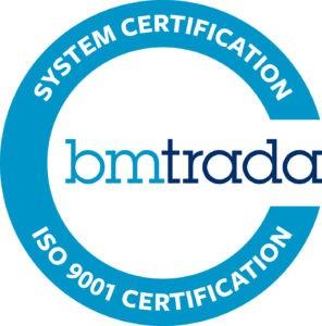 BM Trada iso 9001 certification