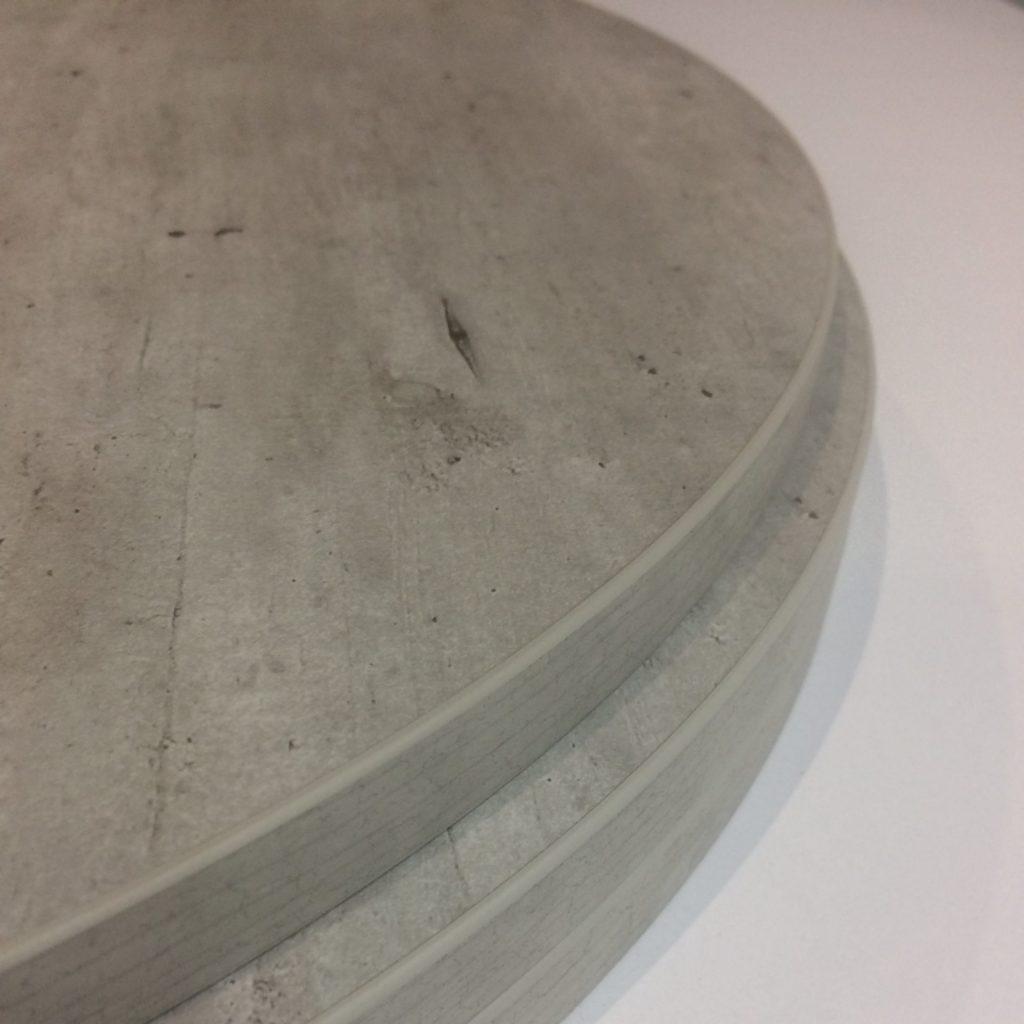 shaped circular table top