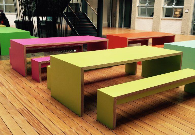 lightweight benches