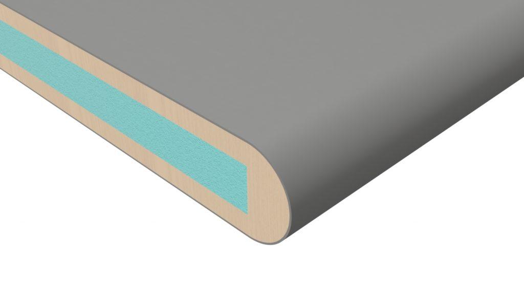 postformed lightweight panels