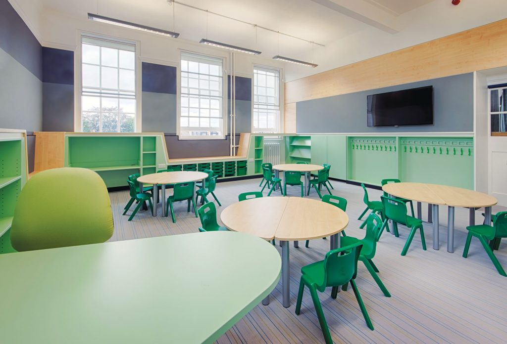 Starbank Clasroom Furniture Interior Fit-out